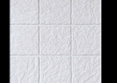4720B Pétreo 9 tacos blanco 40x40