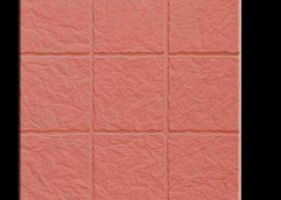 4720R Pétreo 9 tacos rojo 40x40