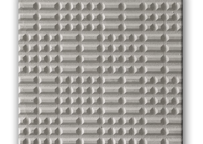 4718G - Punta diamante gris 40x40