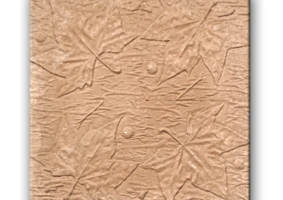 4730 Pétreo hojas castaño salmón 40x40