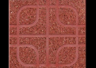 4731R Dibujo Andalucia rojo pulido 40x40